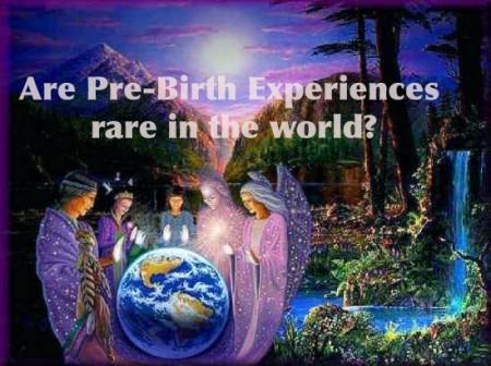 Are pre-birth experiences and memories rare, or not-so-rare?