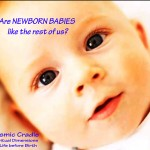 Is a newborn baby a fully conscious being?