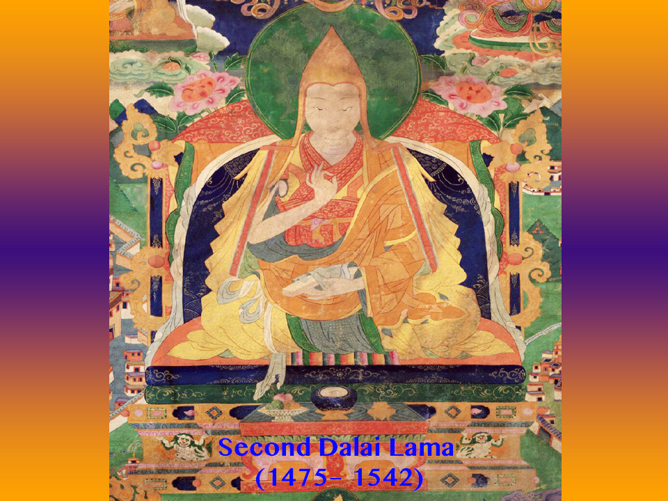 Seed of Blue Light and Birth of the Second Dalai Lama